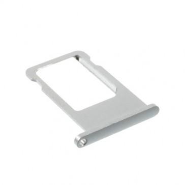 Cassetto SIM per iPhone 6 - 6+ Plus Argento - ORIGINALE