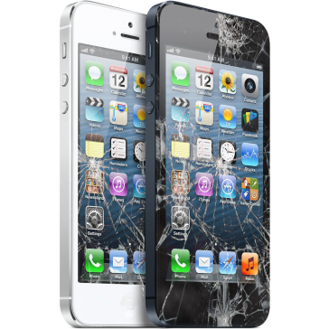 iPhone 5 Rottura Display - Sostituzione Display Touch Screen ORIGINALE