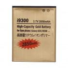 Batteria Alta Capacità Gold Business 2850mAh per Samsung i9300 Galaxy S3 - S III