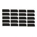 Cuscinetto Adesivo per Flex Telecamera Frontale, Auricolare, Sensore Prossimità - 20 Pezzo - per iPhone 5 - ORIGINALE