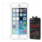 Vetro Temperato Protettivo Antirottura Resistentissimo Ultrasottile 0,20mm per iPhone 5 5S