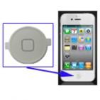 Home Button per iPhone 4 (White)
